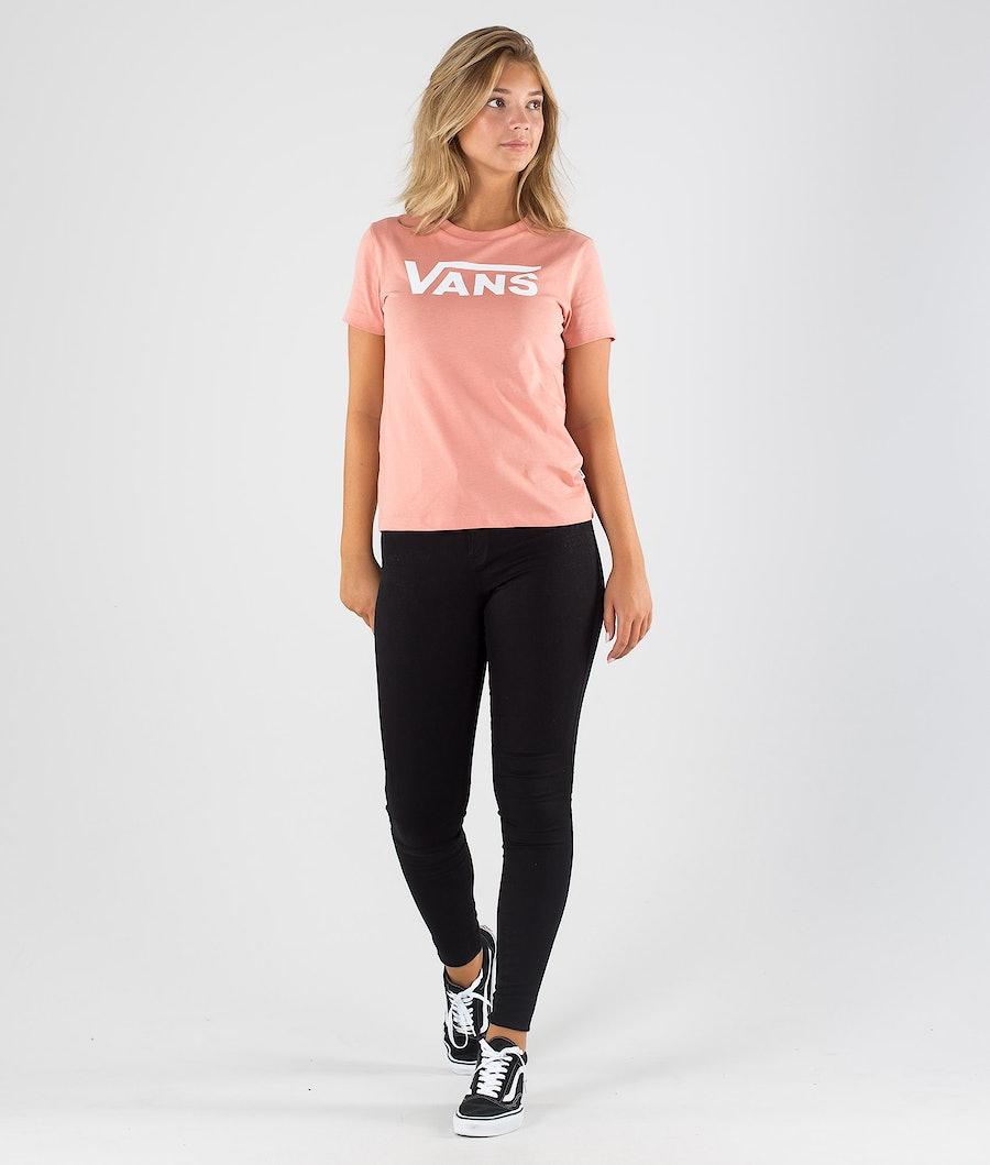 Vans Flying V Crew T-shirt Donna Rose Dawn