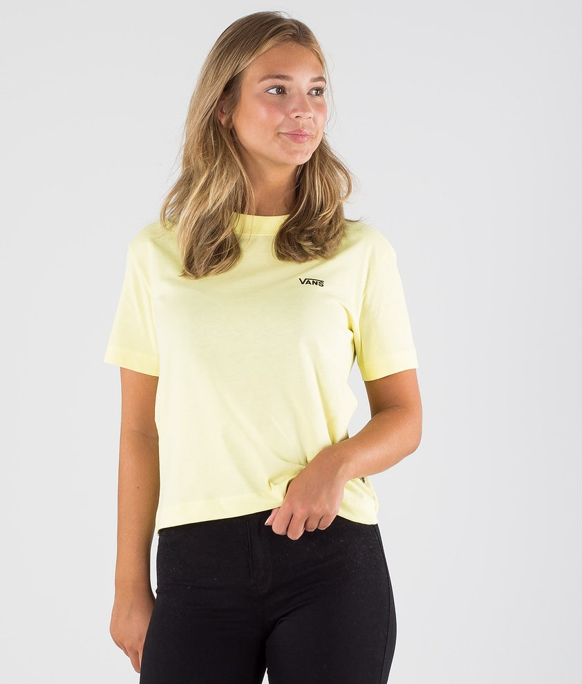 Vans Junior V Boxy T-shirt Yellow Pear