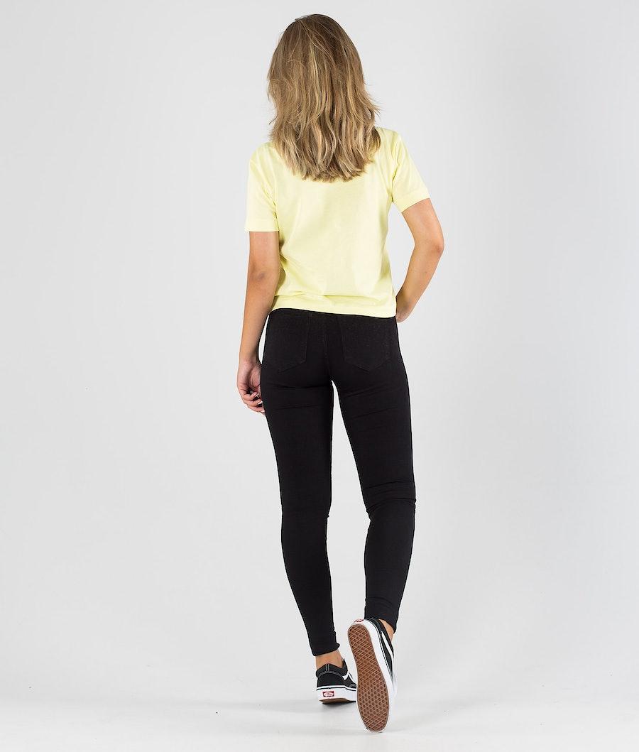 Vans Junior V Boxy T-shirt Donna Yellow Pear