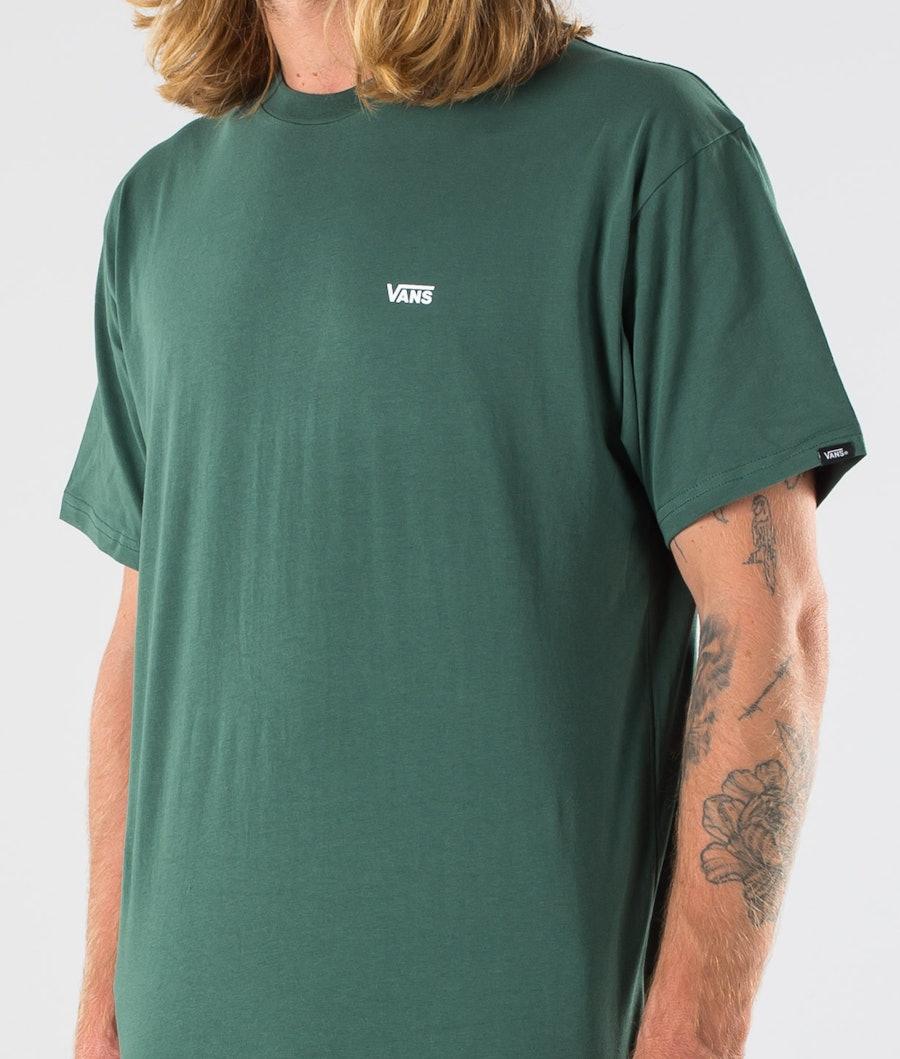 Vans Left Chest Logo T-shirt Pine Needle/White