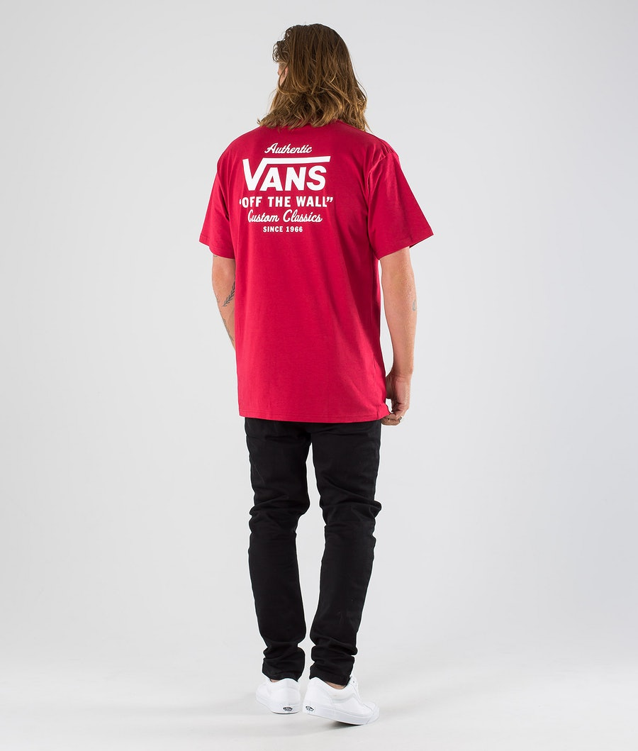 Vans Holder St Classic T-shirt Cardinal