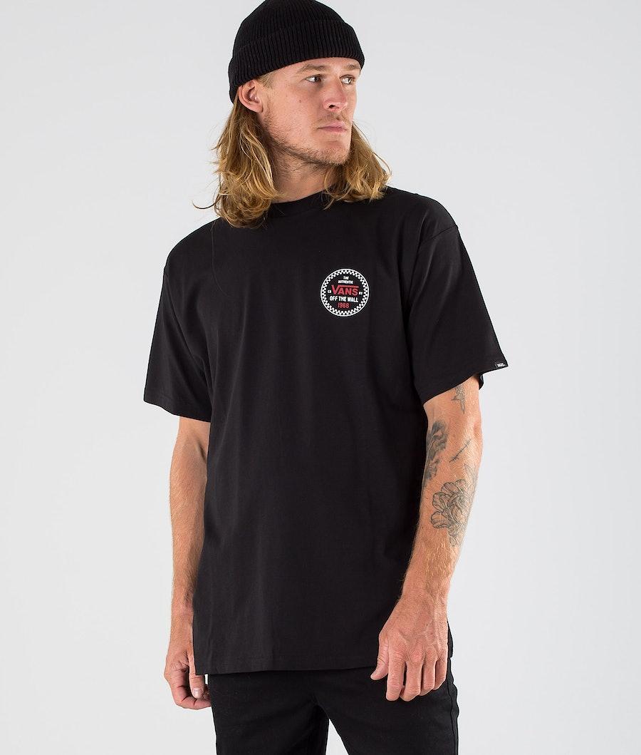 Vans Checker 66 T-shirt Black