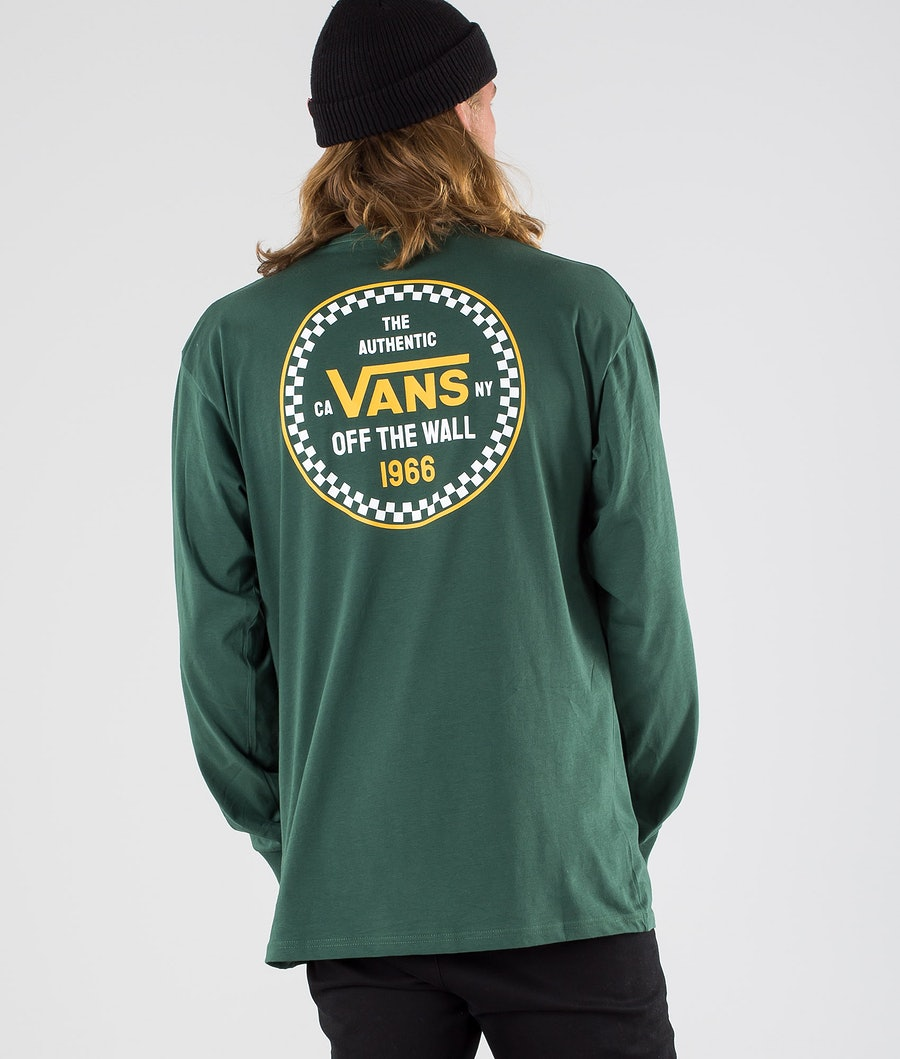 Vans Checker 66 Longsleeve Pine Needle