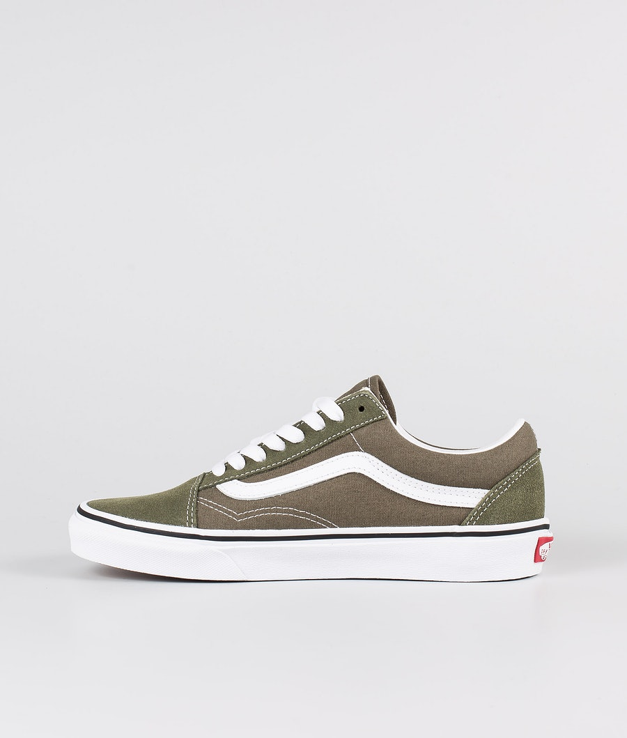 Vans Old Skool Skor Grape Leaf/True White