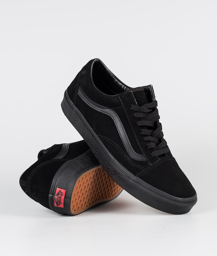 Vans Old Skool Shoes (Suede)Black/Black/Black
