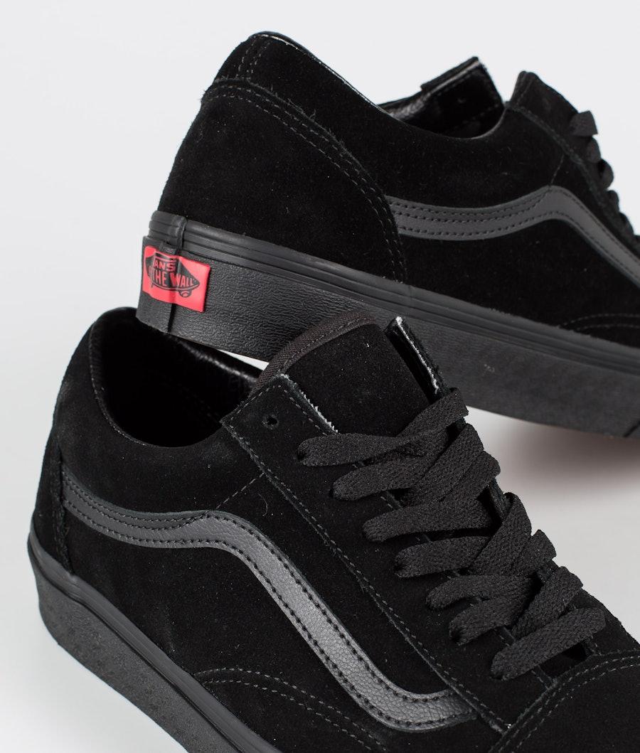Vans Old Skool Skor (Suede)Black/Black/Black