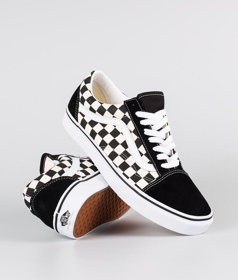Vans Old Skool Chaussures (Primary Check) Black/White