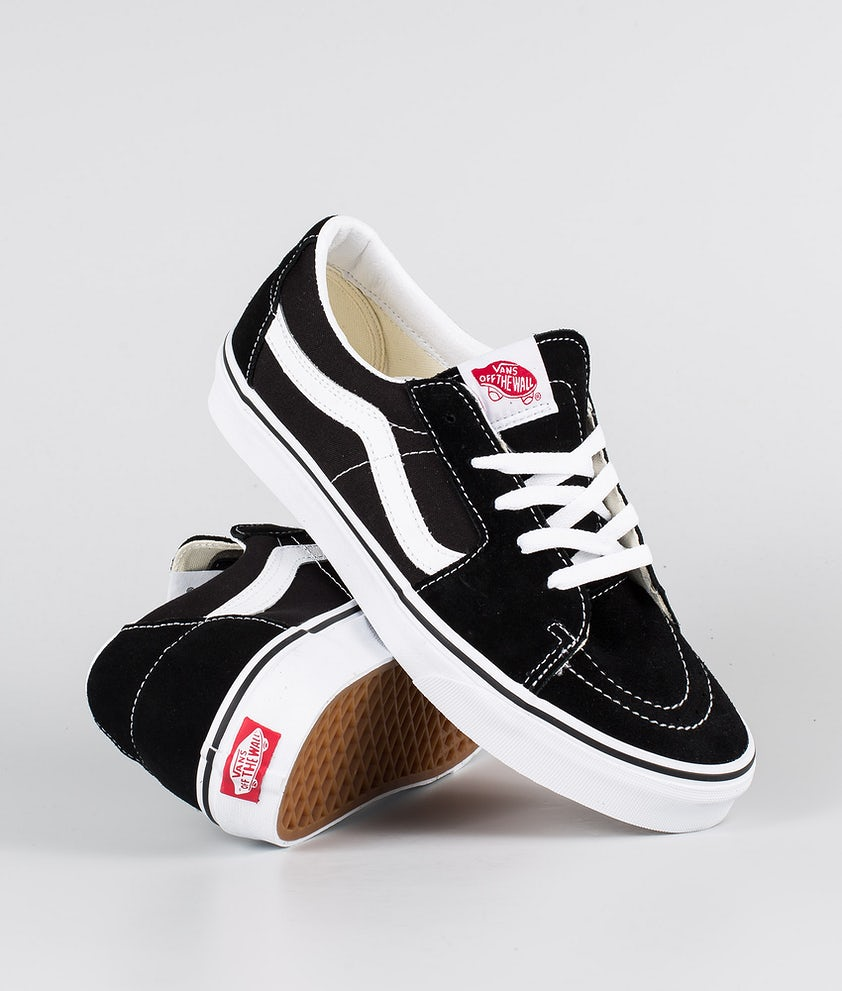 Vans SK8-Low Sko Black/True White