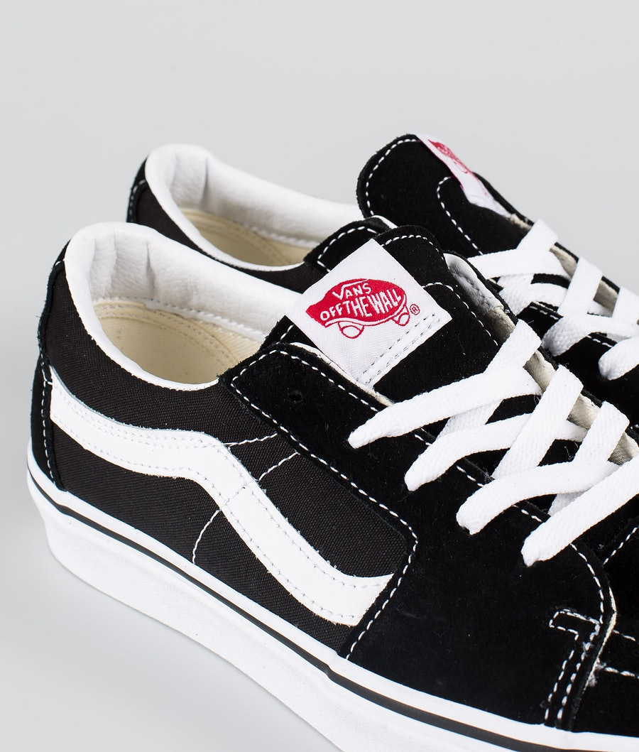 Vans SK8-Low Skor Black/True White