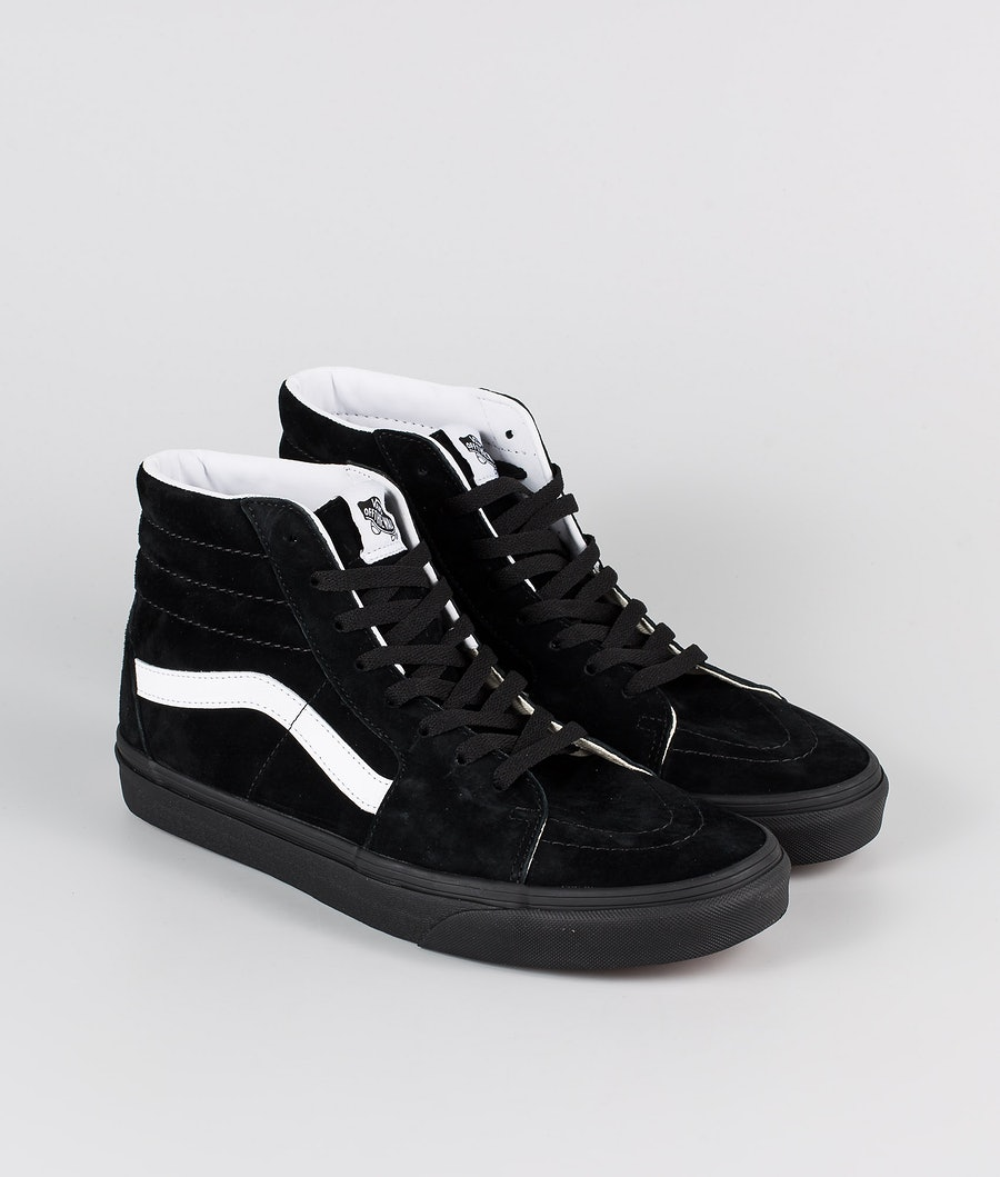 Vans SK8-Hi Skor (Pig Suede) Black/Black