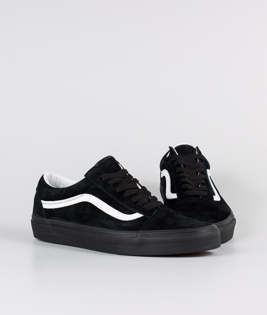 Vans Old Skool Chaussures (Pig Suede) Black/Black
