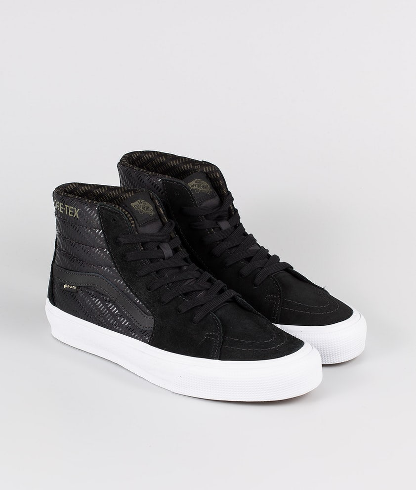 Vans SK8-Hi Gore-Tex Shoes (Gore-Tex) Black/True White