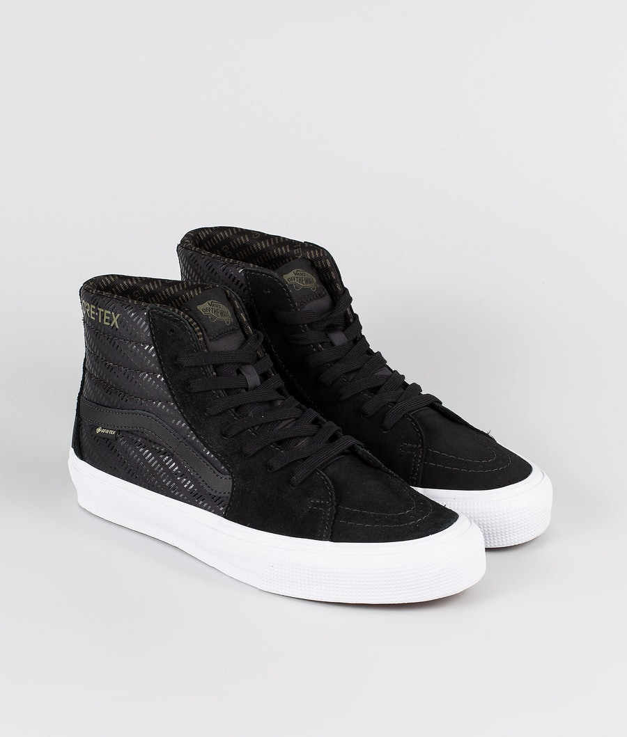 Vans SK8-Hi Gore-Tex Chaussures (Gore-Tex) Black/True White