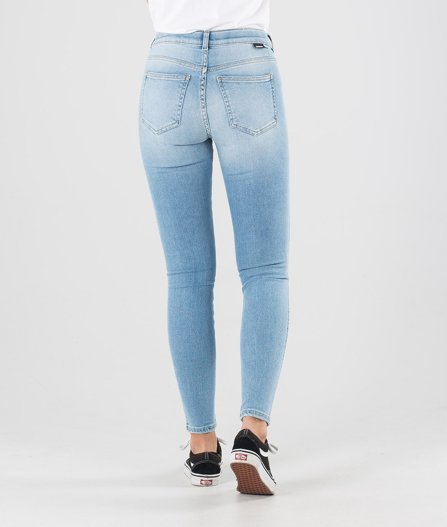 Dr Denim Lexy Hosen Damen Icicle Blue Ripped