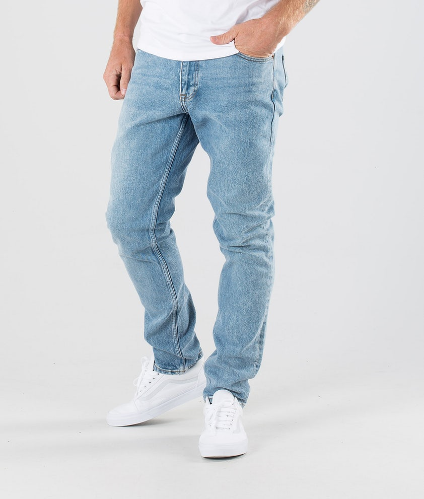 Dr Denim Clark Pants Blue Rock