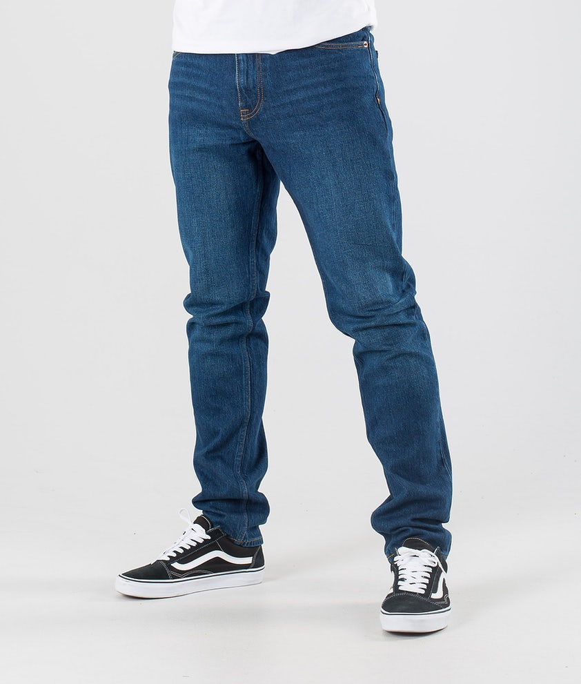 Dr Denim Clark Hosen Dark Blue Rock
