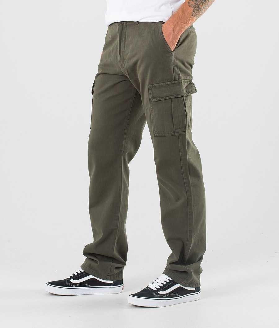 Dr Denim Dash Cargo Pantalon Dark Emerald
