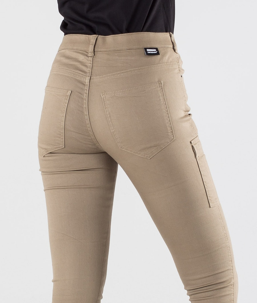 Dr Denim Lexy Cargo Women's Pants Khaki