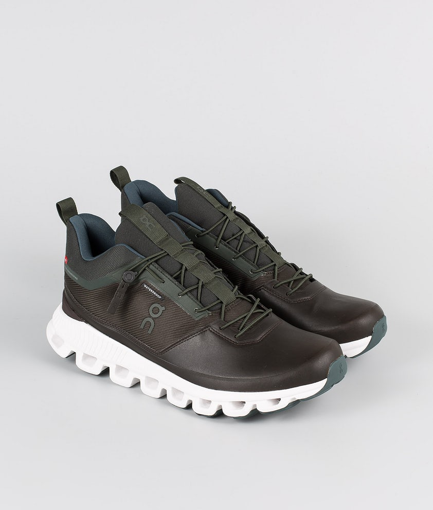 On Shoes Cloud Hi Waterproof Scarpe Fir/Umber