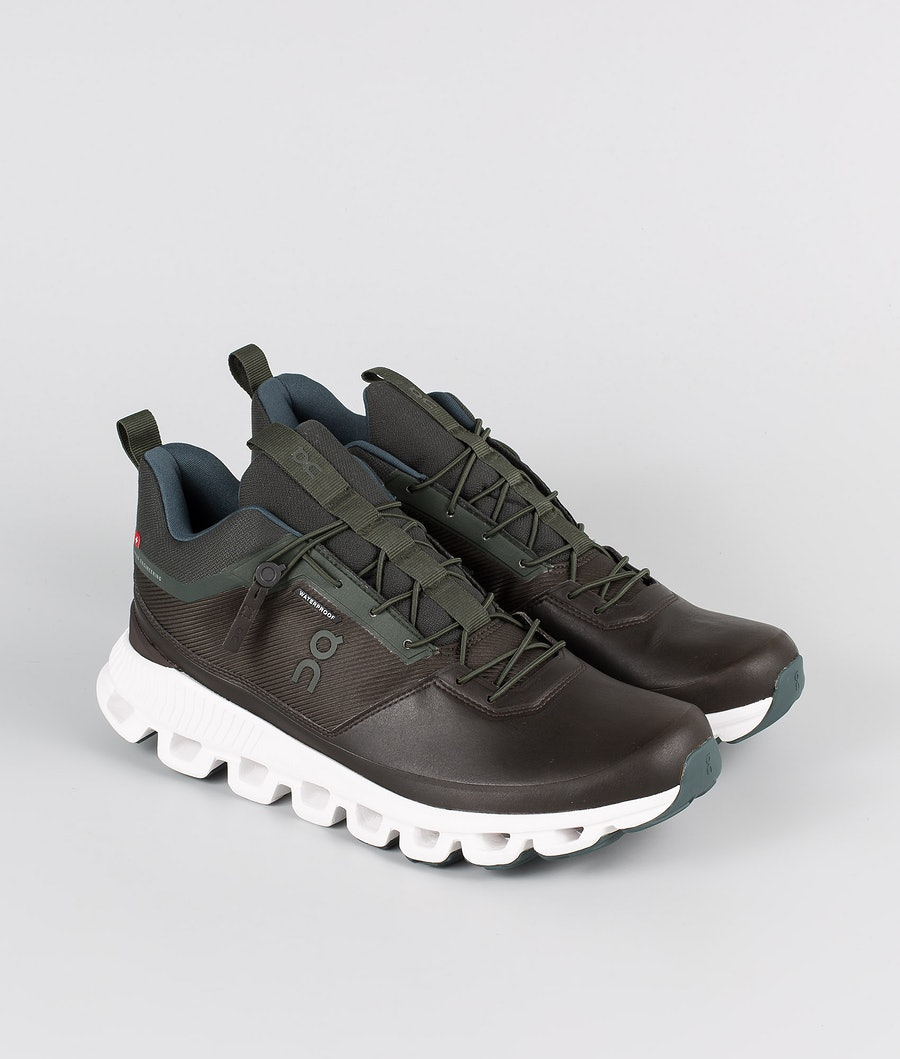 On Shoes Cloud Hi Waterproof Chaussures Fir/Umber