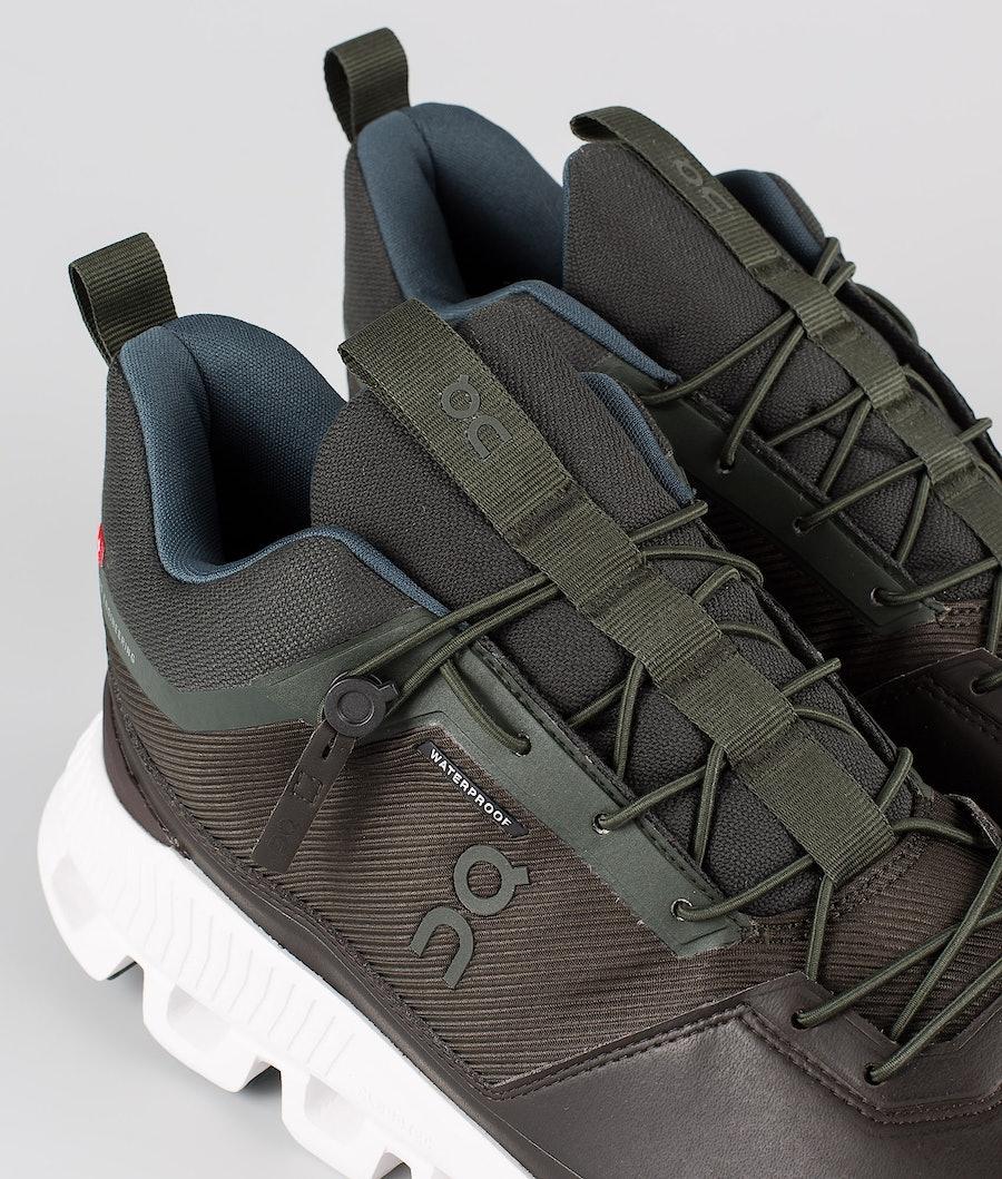 On Shoes Cloud Hi Waterproof Shoes Fir/Umber