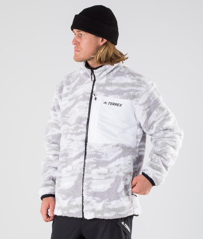 Adidas Terrex XPLR Sherpa Giacca Grey Three