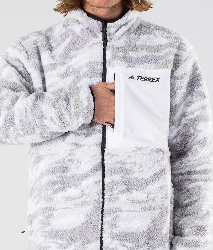 Adidas Terrex XPLR Sherpa Jakke Grey Three