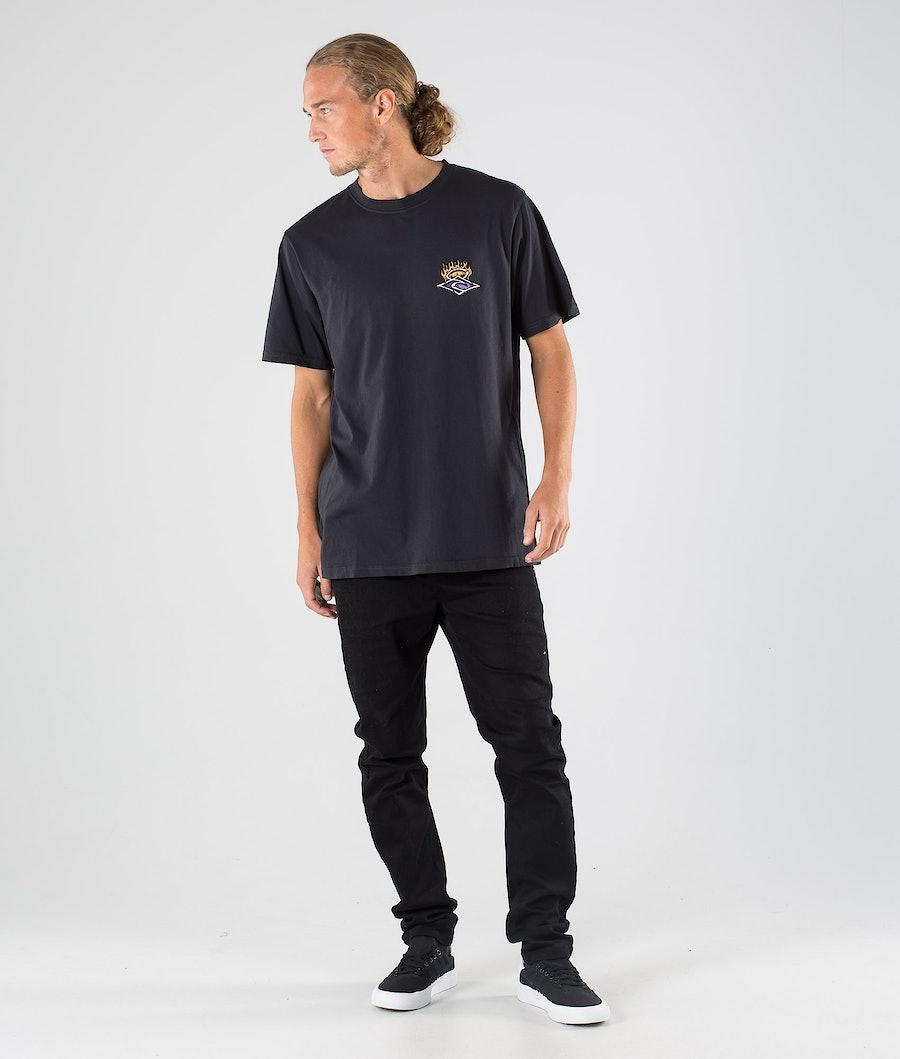 Rip Curl Endless Runners T-shirt Black
