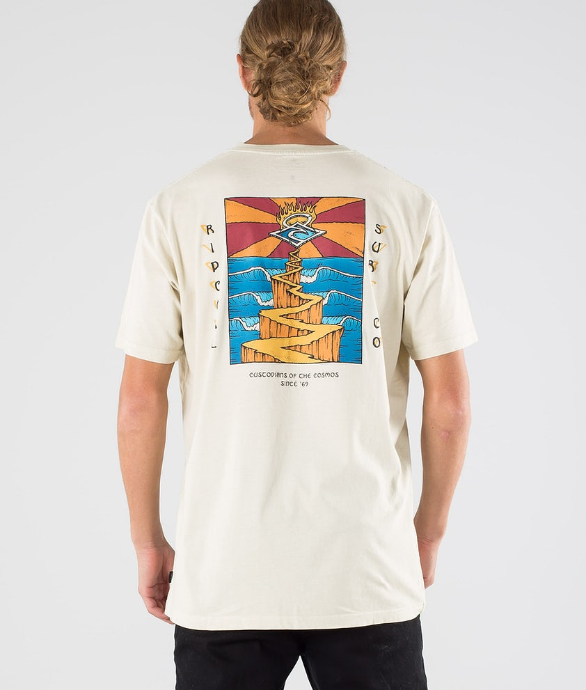 Rip Curl Endless Runners T-shirt Bone