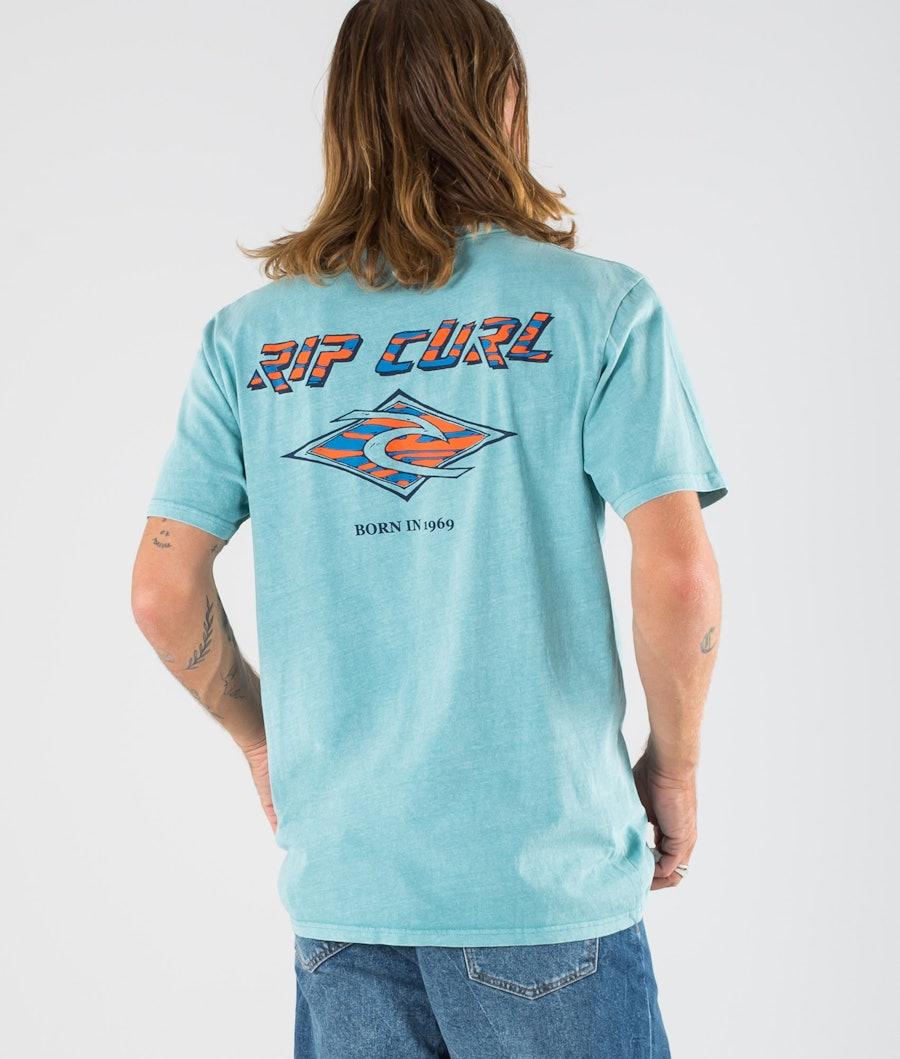 Rip Curl Fadeout T-paita Teal