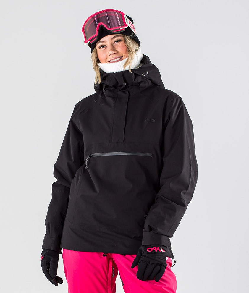 Oakley Iris Insulated Anorak Snowboardjakke Blackout