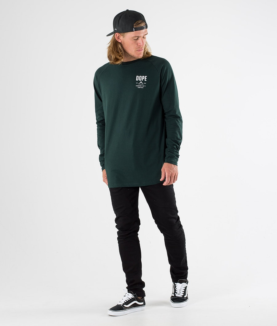 Dope Stacked Longsleeve Green