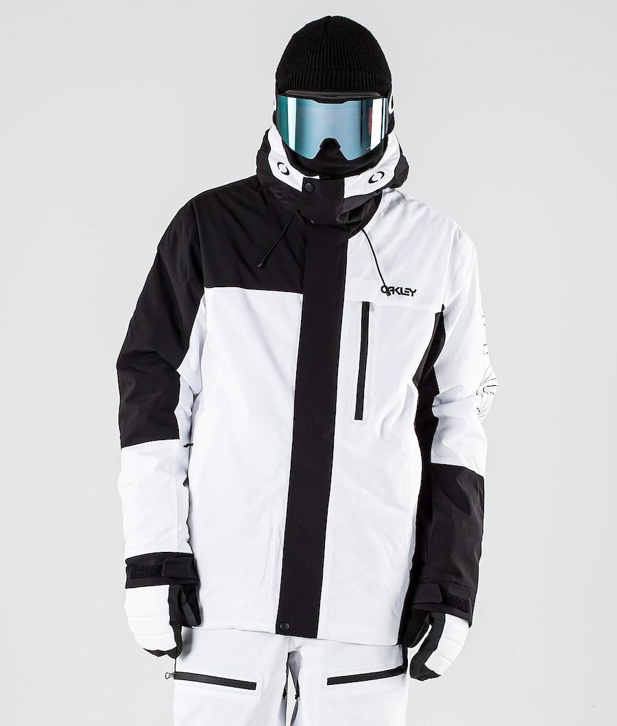Oakley BZI Snowboard Jacket Black/White