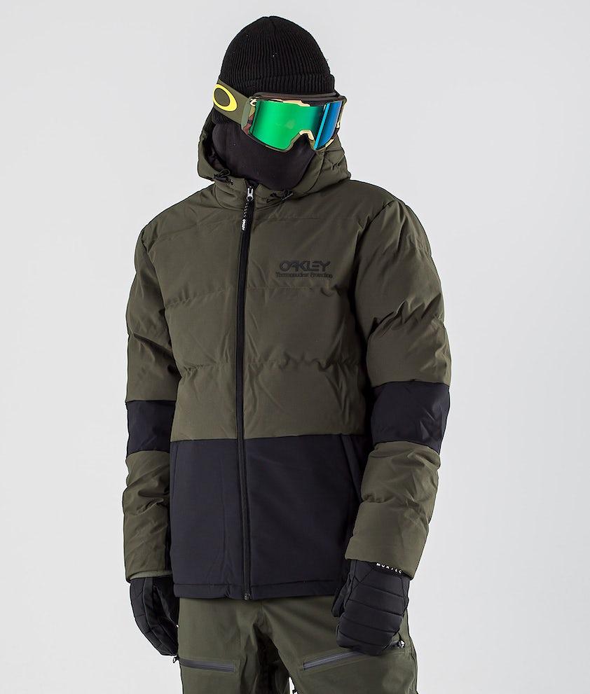Oakley DWR Insulated Snowboard Jacket Black/Green