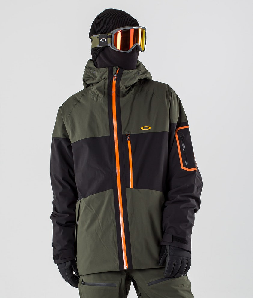 Oakley Cedar Ridge 3.0 BZI Snowboard Jacket Black/Green