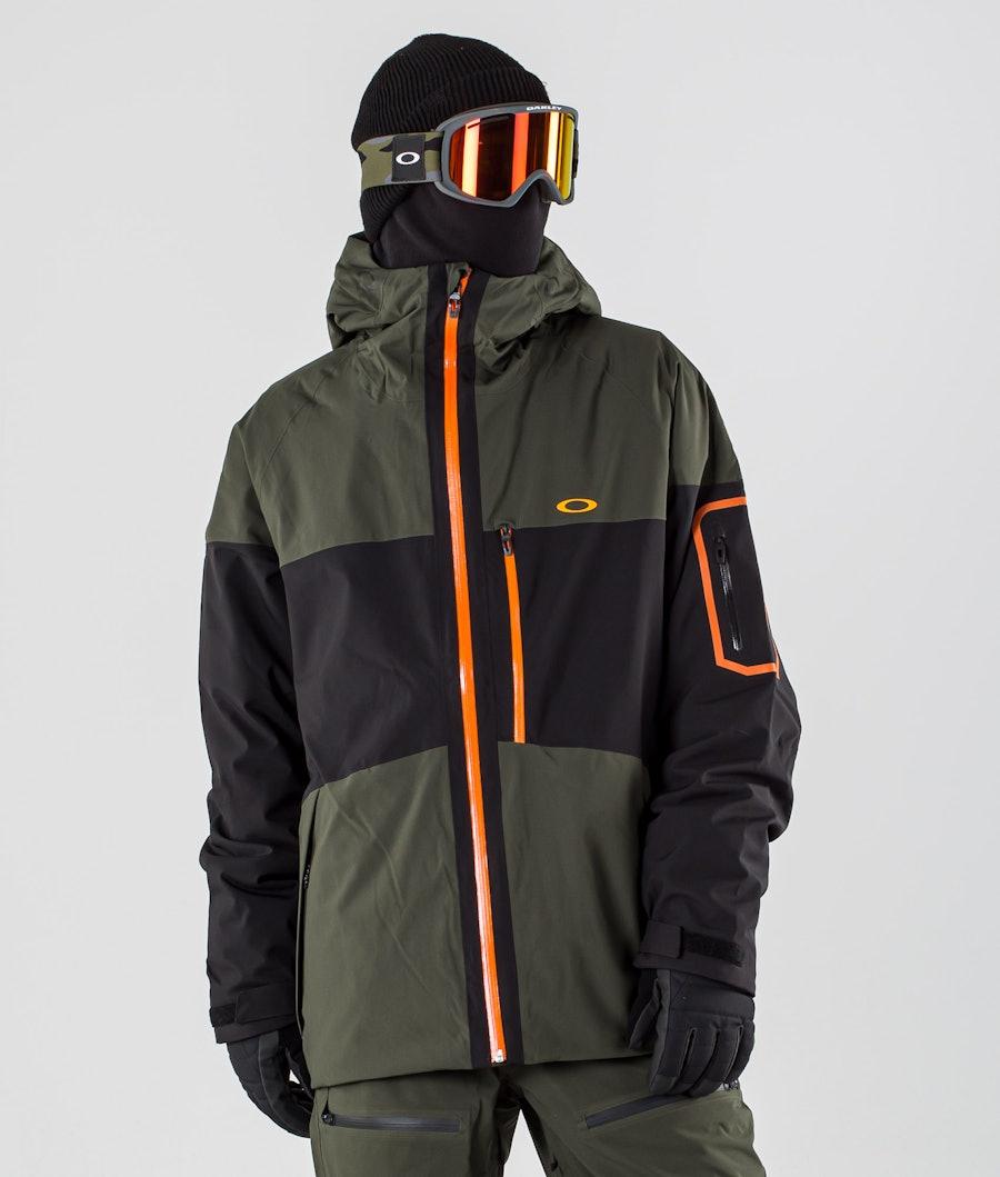 Oakley Cedar Ridge 3.0 BZI Snowboardjacke Black/Green