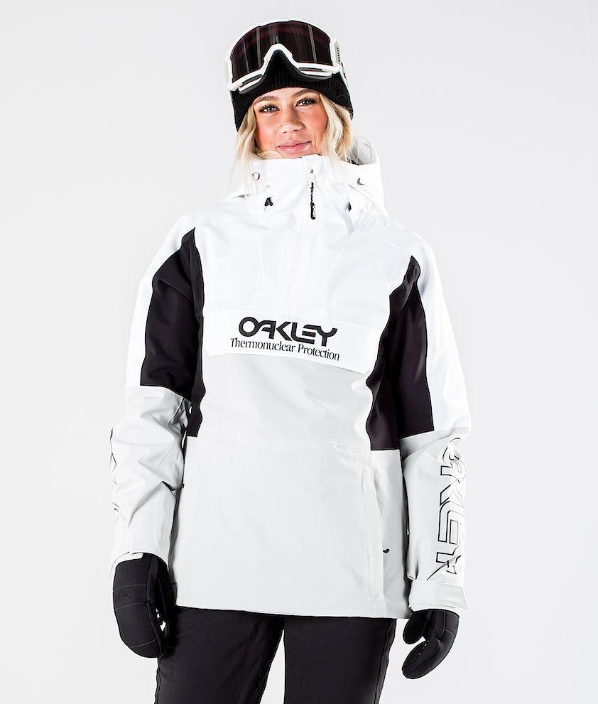 Oakley Insulated Anorak Snowboardjacka White/Grey