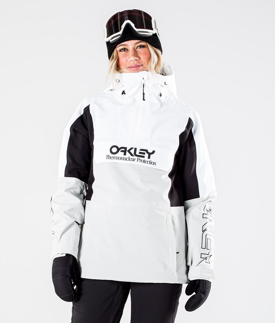 Oakley Insulated Anorak Veste de Snowboard White/Grey