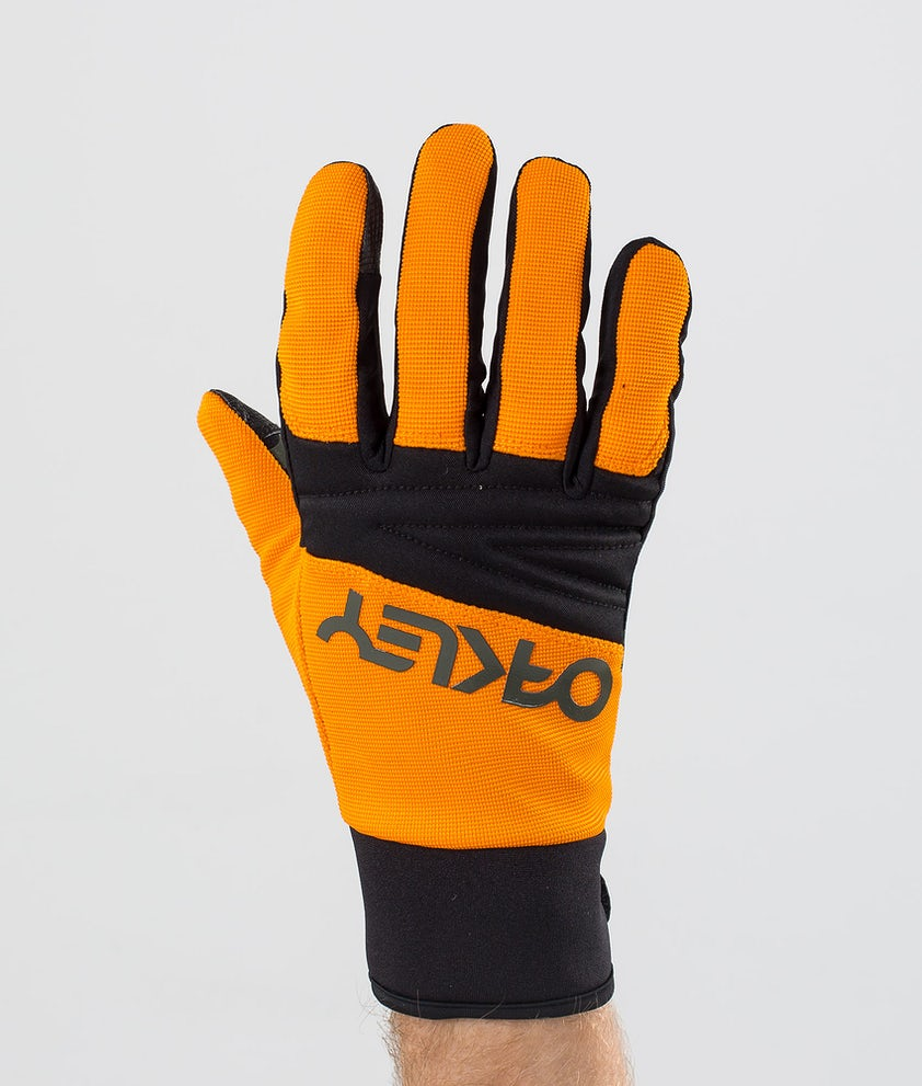 Oakley Factory Park Ski Gloves Bold Orange