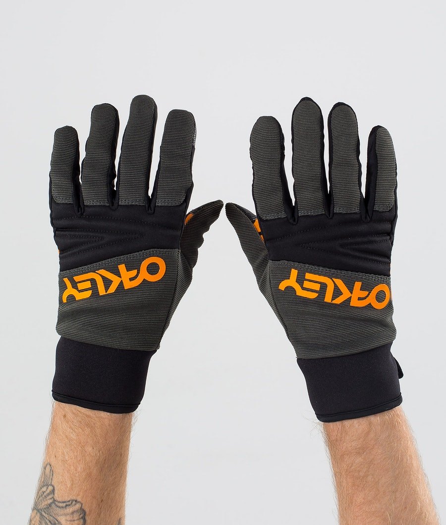 Oakley Factory Park Ski Gloves New Dark Brush