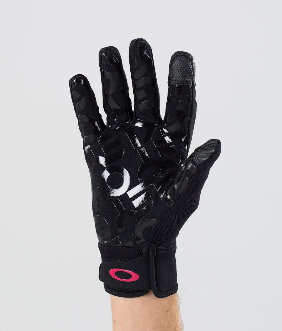 Oakley Factory Park Ski Gloves Black/Rubine