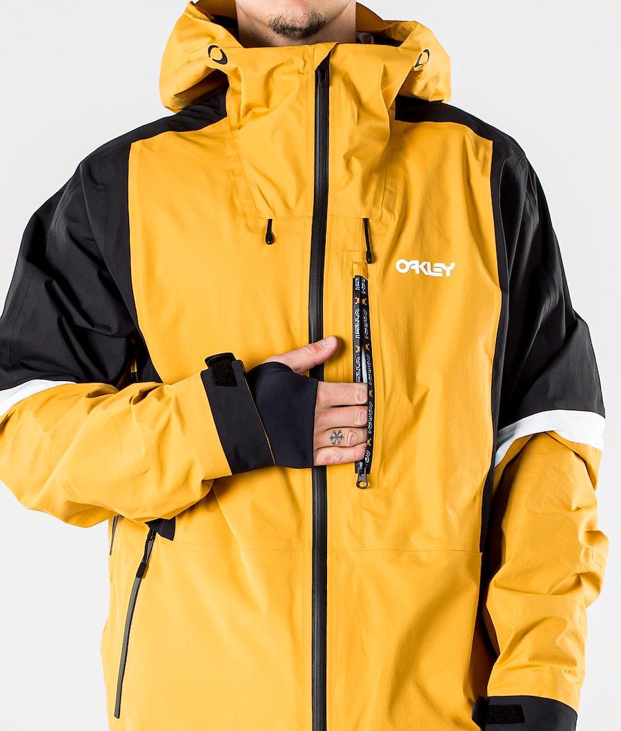 Oakley Gunn Shell Snowboardjacka Gold Yellow