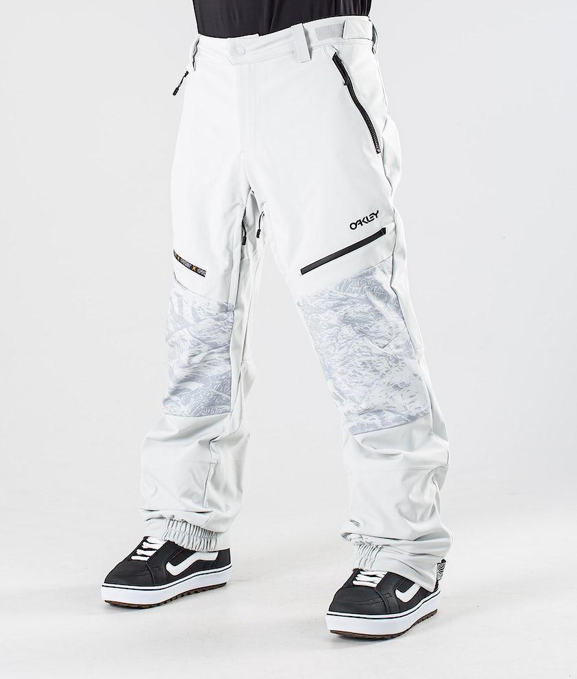 Oakley Stretchy Softshell Snowboard Pants Lunar Rock