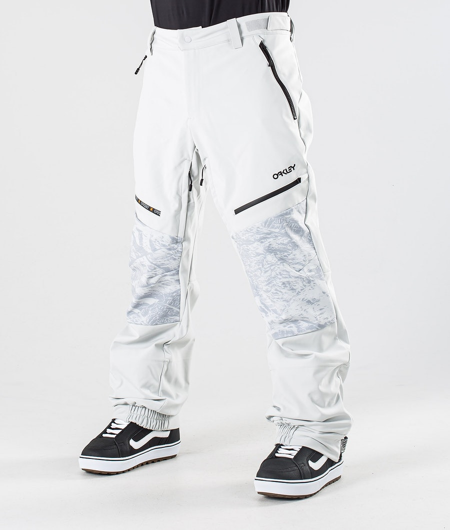 Oakley Stretchy Softshell Pantalon de Snowboard Lunar Rock