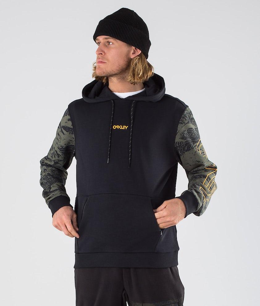 Oakley Mountain Camo Hood Blackout