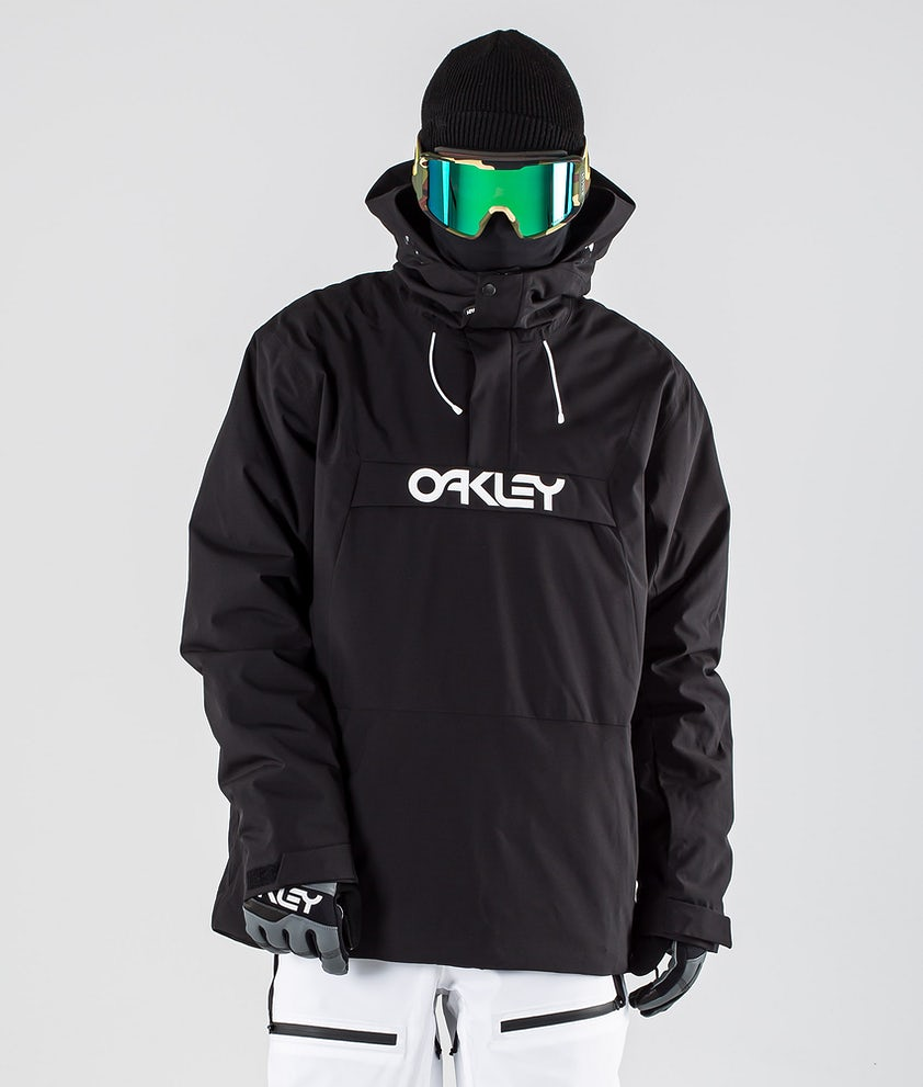 Oakley Insulated Anorak Snowboard Jacket Blackout