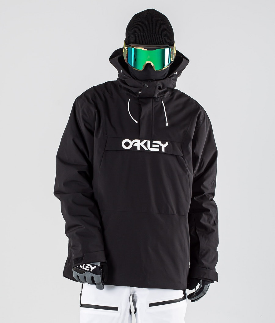 Oakley Insulated Anorak Giacca da Snowboard Blackout