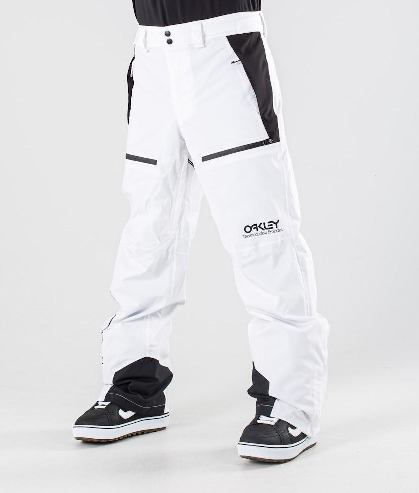 Oakley Lined Shell Snowboardbyxa White