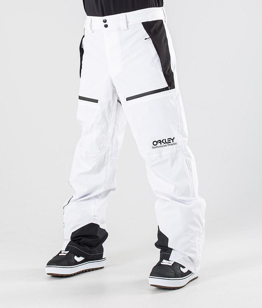 Oakley Lined Shell Snowboard Pants White