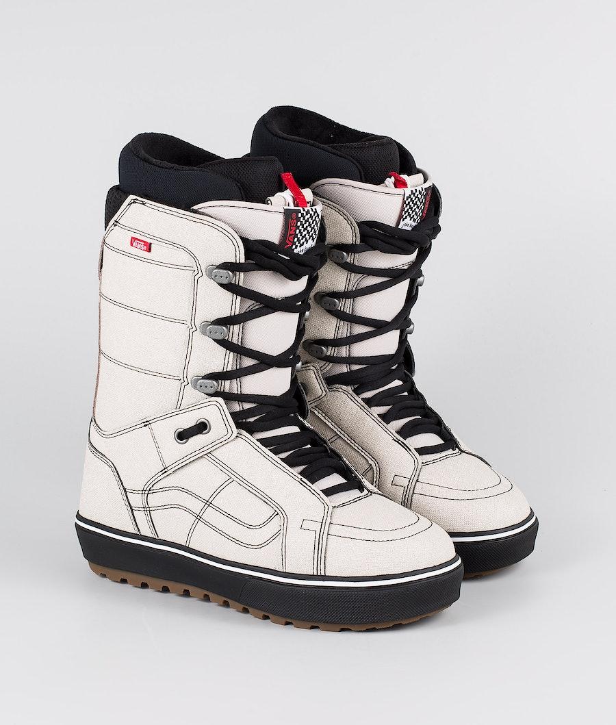 Vans Hi-Standard OG Snowboard Boots (Jake Kuzyk) Moonbeam/Black